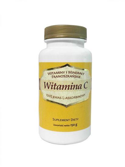Obrazek Witamina C 100% kwas L-askorbinowy