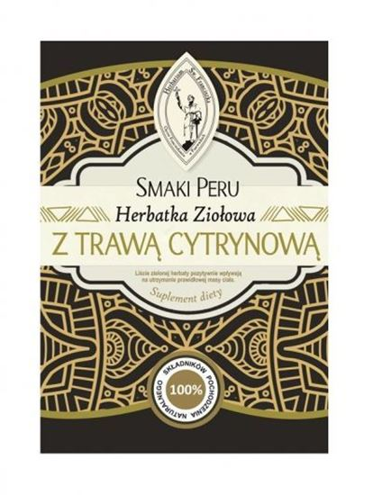 Obrazek SMAKI PERU Herbatka ziołowa z Trawą Cytrynową